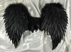 Black Feather Wings-Fallen Angel Costume for Halloween