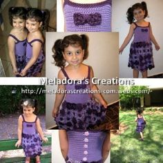 Crochet Flower Dress - Meladora's Creations Free Crochet Patterns & Tutorials
