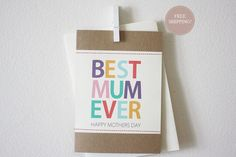 #mother's day card