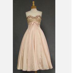 Vintage brides maid dress