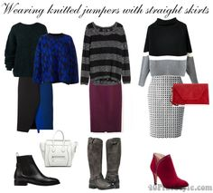 How to wear a bulky knitted sweater – fall 2014 trend