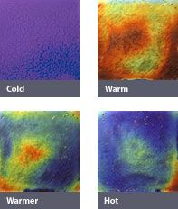 Tye Dye - Color changing heat sensitive tiles are amazing!