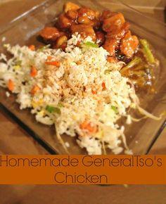 Homemade General Tso's Chicken #recipes
