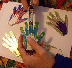 family handprint ornament