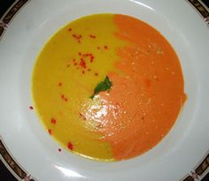 Roasted Red and Yellow Pepper Puree for Vegan Enchiladas! (Looks like ...