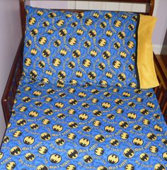 Batman Baby/ Toddler fitted Sheet and by SweetDreamsbyGranny, $40.00