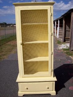 repurposed gun cabinet
