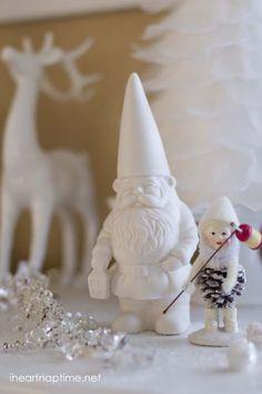 A white winter land ...dreamy! #Christmas