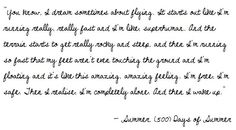500 days of summer quotes - Google Search