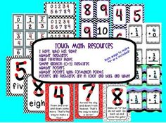 Touch Math Resources from Rockin' Resources for Teachers on TeachersNotebook.com -  (58 pages)