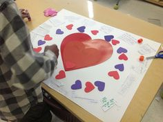 Tonya's Treats for Teachers: Valentine's Day Project-they LOVED it:)