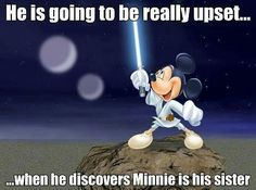 Disney star wars.....*laughs*