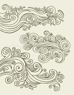 would look really cool as waves in an ocean, I might try to incorporate this into my tat design....