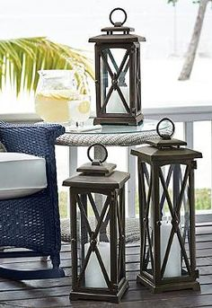 Elegantly shine a light on your outdoor space with the handsome Normandy Lantern; a piece that garners attention during the day and night.