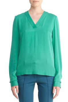 Viv Top in Bright Emerald, Fall 2012: Rendez-vous. $225.00 = £140.25