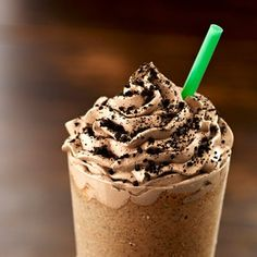 Mocha Cookie Crumble Frappuccino- I love it! AHHHHH!