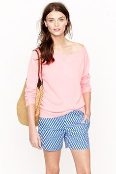 preppy summer  jcrew short
