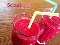 Banana Beet smoothie ~  4 small beets raw, peeled and cut in bite size pieces (if your blender is not strong enough steam beets first for easier blending)    1 small banana, (for a thicker smoothie use a frozen banana)    1 small green apple, chopped    1 small sweet Meyer lemon, juice only    1/2 cup fresh squeezed orange juice