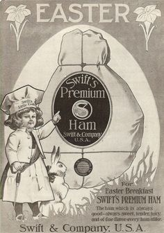 Knick of Time: Antique Graphics Wednesday - Easter Advertisement & Postcard