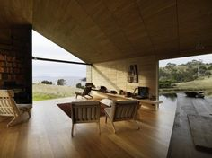 windows surround.  stunning. hous award, shearer cottag, architects, australian hous, cabins australia, interiors, shearer quarter, sheep, design