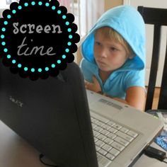 great post on limiting screen time. why, how to and what to do now