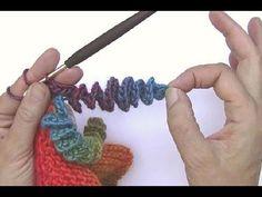 Crochet Corkscrew spirals - Video <3