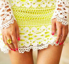 {neon & lace}