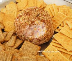 Love this cheese ball.