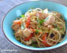 Hoisin Chicken with Noodles | Slimming Eats - Slimming World Recipes