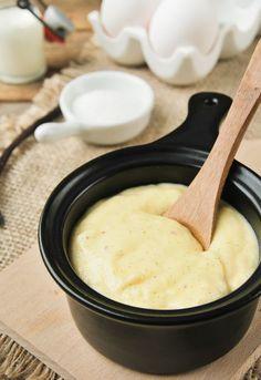 """Receta 1034: Crema pastelera » 1080 Fotos de cocina  - proyecto basado en el libro """"1080 recetas de cocina"""", de Simone Ortega. http://www.alianzaeditorial.es/minisites/1080/index.html"""