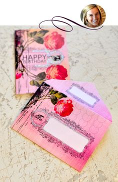 Pretty Printable Envelopes!