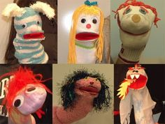 Mira Reisberg: August 2010 textil idea, sock puppets