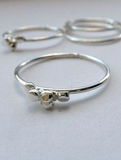Ria Sterling silver ring