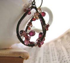 Tunduru sapphire earrings, free to a good home! #giveaway #free #jewelry