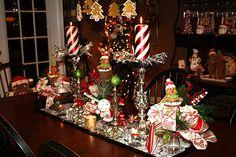 Gingerbread Kitchen Centerpiece