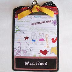 clipboard gift