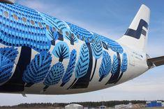 Finnair A330 Marimekko !!