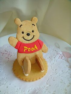 Winnie the Pooh 3D Cookies