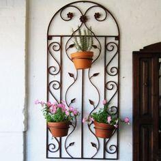 wrought iron wall decor, irons, decor zuku, metal, live idea, wrought iron planters, wrought iron decor, black wrought, garden