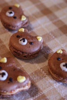 Teddy Macaron, Japanese Recipe