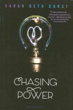 Chasing Power by Sarah Beth Durst - Daniel, who is able to teleport, needs Kayla, whose telekinetic ability has made her an expert shoplifter, to help him steal an ancient incantation that can help rescue his kidnapped mother, but that may put Kayla in great danger.