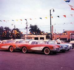 Classic Corvette Sales Lot