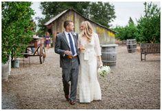 Intimate Californian Barn Wedding