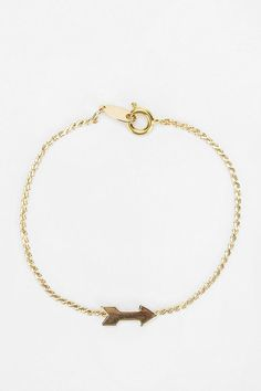 Diament Jewelry For Urban Renewal Gold Arrow Bracelet  #urbanoutfitters