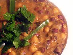 Mixed Bean Indian Stew from Lisa's Vegetarian Kitchen