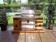 Reinventing the Ordinary: Built-in Barbecues....my DIY