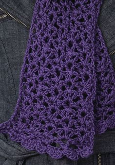 neckwrap crochet pattern...one skein of yarn