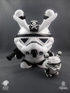 Big Brother Stormtrooper custom Star Wars-inspired Dunny