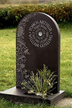 Beautiful headstones  http://www.ieuanreeslettering.co.uk; Decorative Headstones