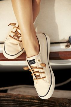 Sperry sneakers... SO CUTE , i'd wear these